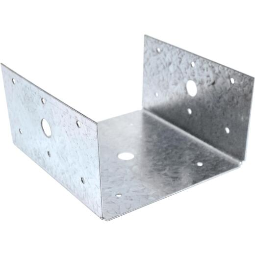 Simpson Strong-Tie 6 In. x 6 In. 18 ga Galvanized Post Cap & Half Base