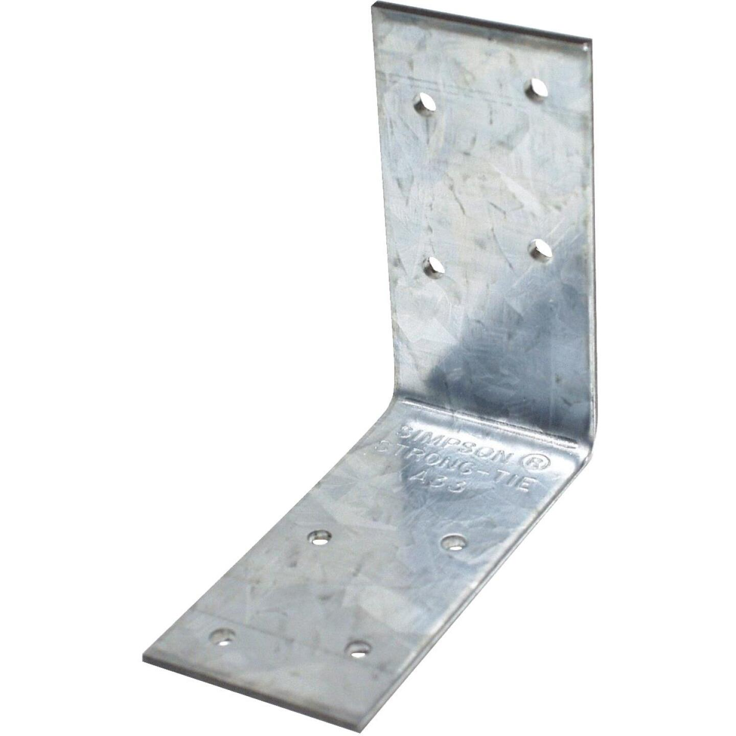 Simpson Strong-Tie 3 In. x 3 In. x 1-1/2 In. Galvanized Steel 12 ga Reinforcing Angle Image 1