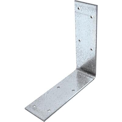 Simpson Strong-Tie 4-9/16 In. x 4-3/8 In. x 1-1/2 In. Galvanized Steel 12 ga Reinforcing Angle