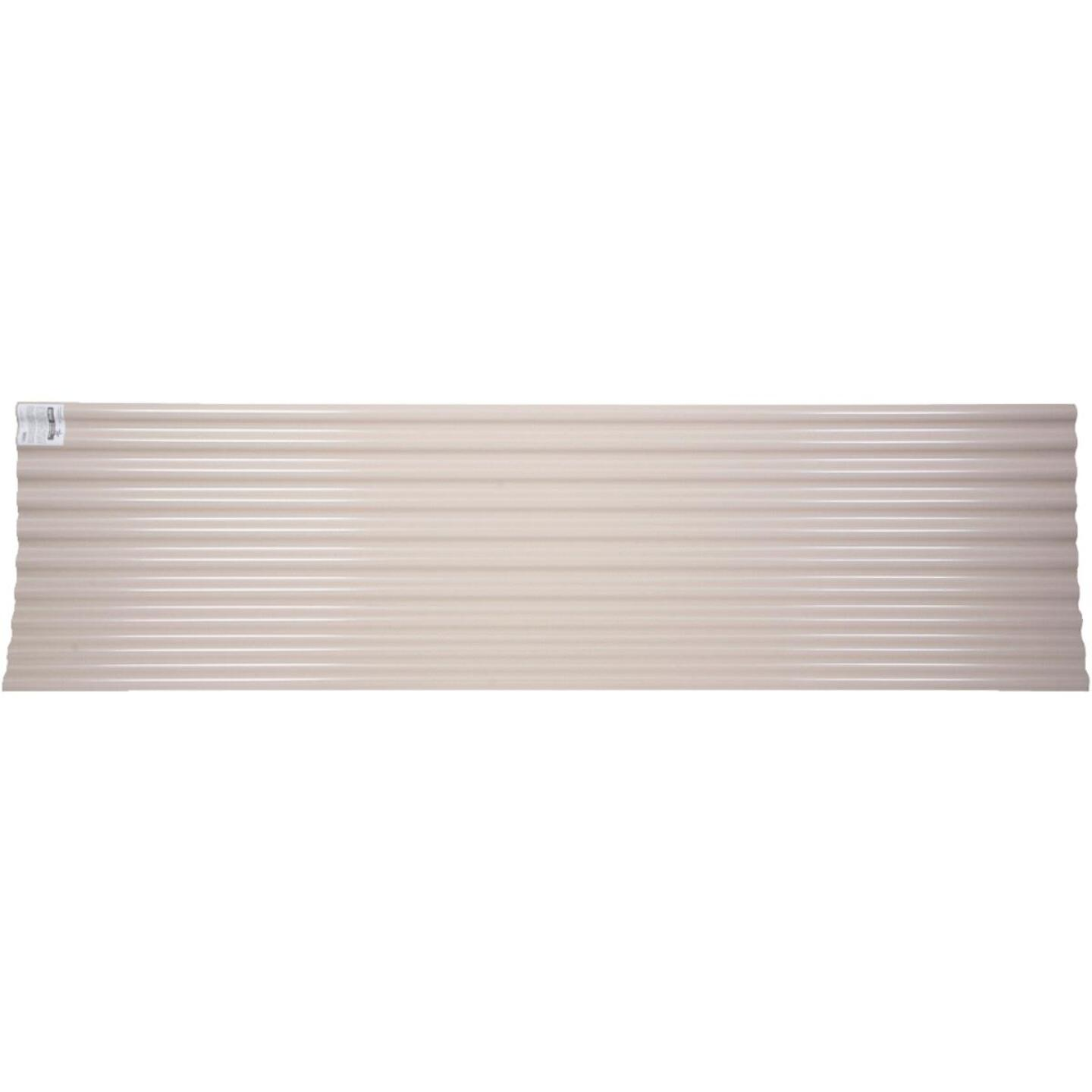 Tuftex Seacoaster 26 In. x 12 Ft. Opaque Tan Round Wave Polycarb & Vinyl Corrugated Panels Image 1