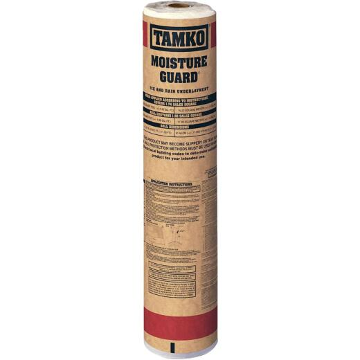 Tamko Moisture Guard 36 In. x 64 Ft. 6 In. Ice & Water Roof Underlayment