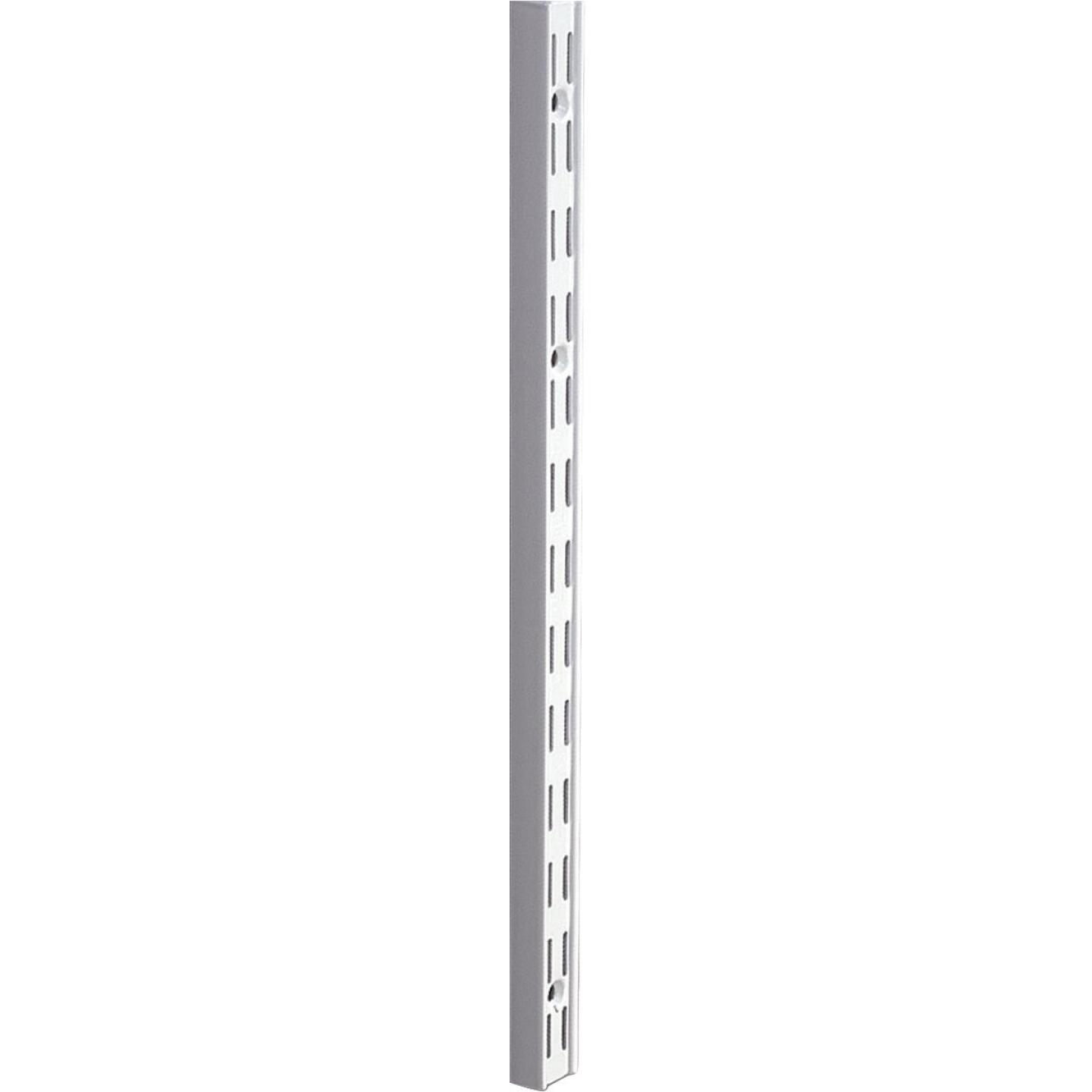 Knape & Vogt 82 Series 63 In. Titanium Steel Heavy-Duty Double-Slot Shelf Standard Image 1