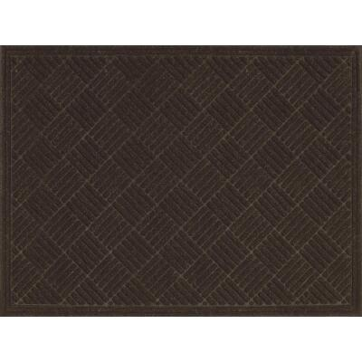 Multy Home Contours 3 Ft. x 4 Ft. Earth Carpet Utility Floor Mat, Indoor/Outdoor