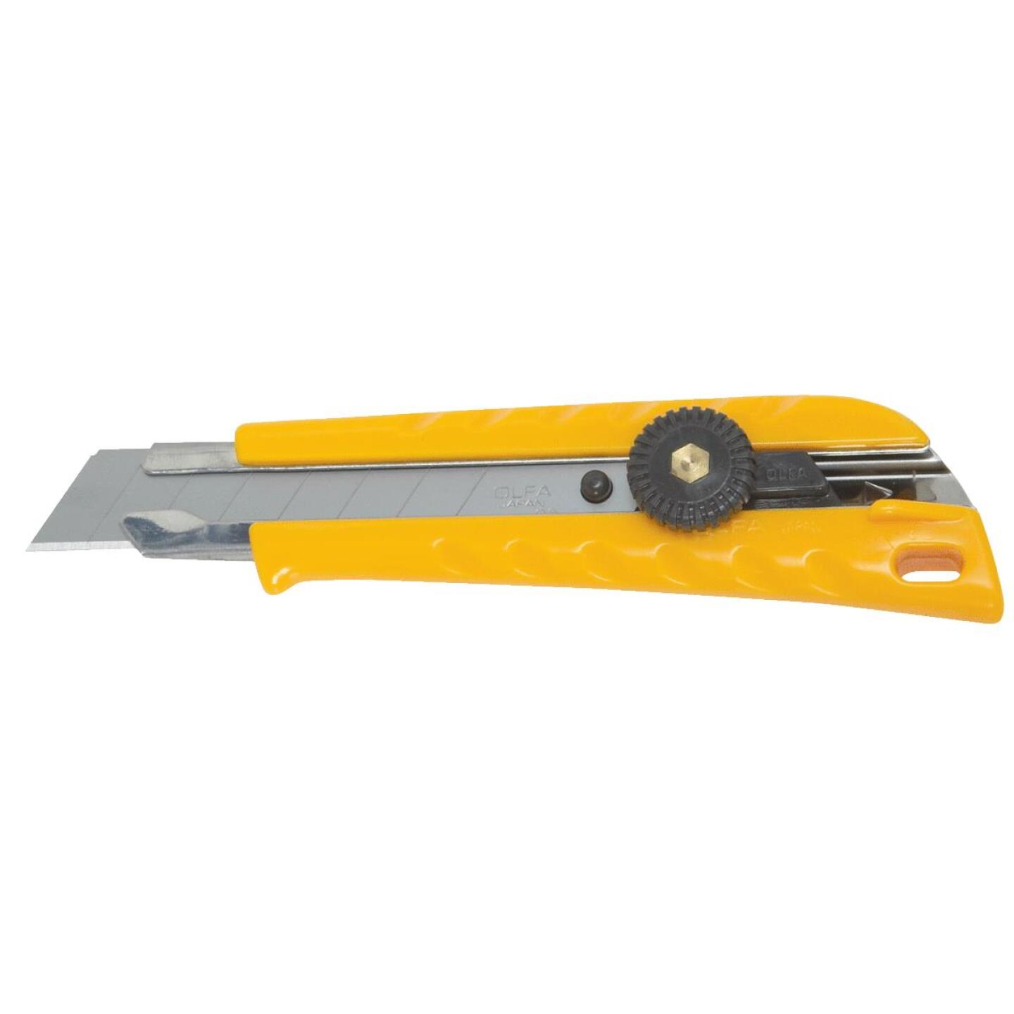 Olfa 18mm 8-Point Ratchet-Lock L-1 Snap-Off Knife Image 1