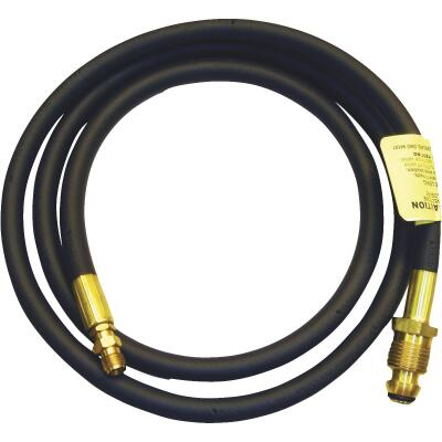 MR. HEATER 2 Ft. x POL x 1/4 In. Inverted Male Flare Motor Home LP Hose Assembly