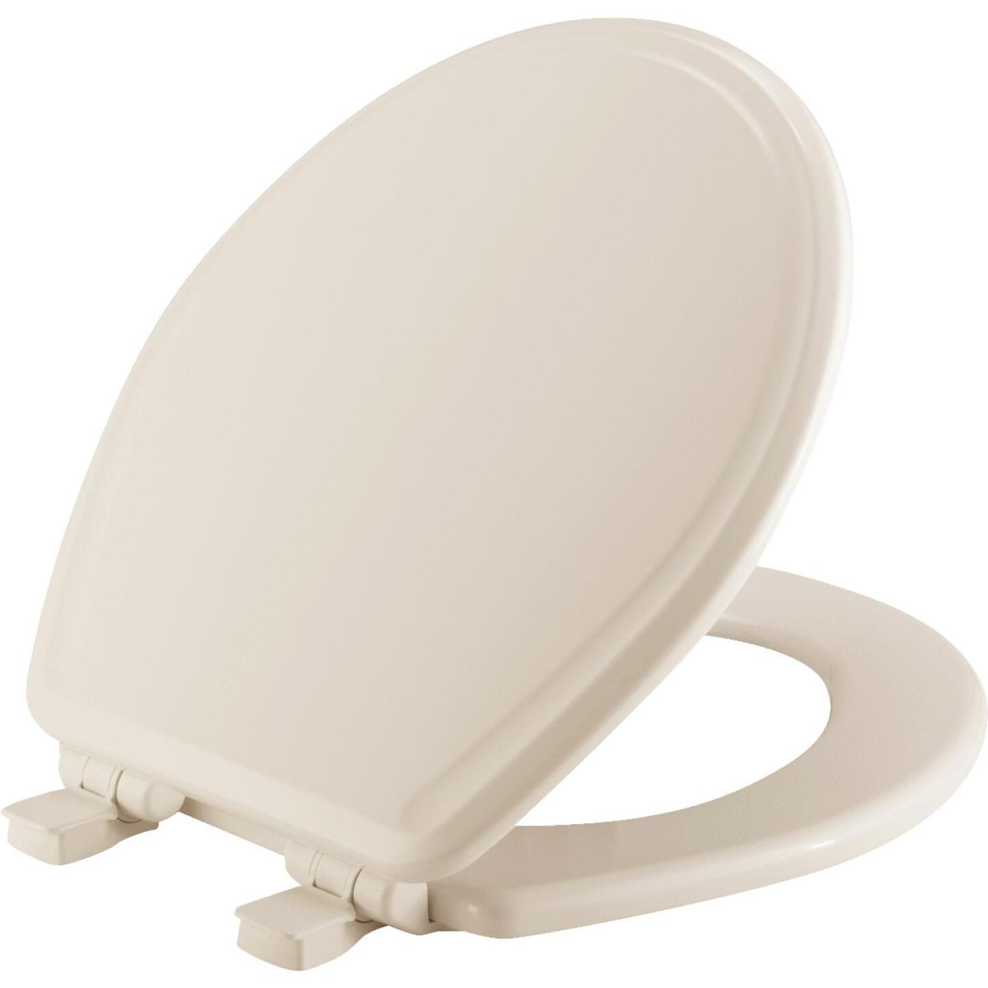 Mayfair Round Closed Front Slow Close Biscuit Toilet Seat Image 1