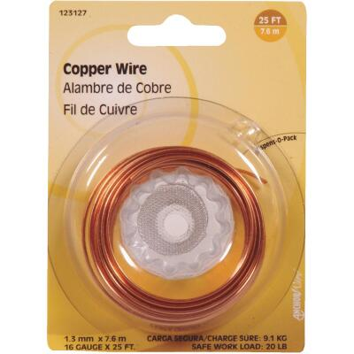 Hillman Fastener Corp 25 Ft. 16 Ga. Copper Wire