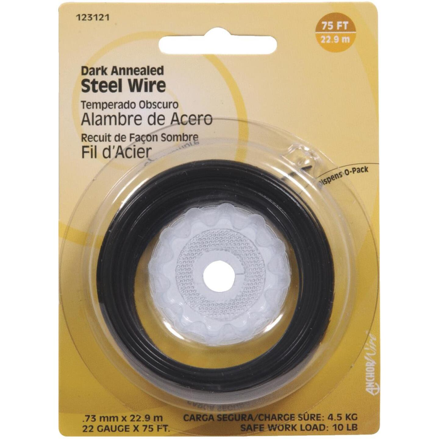 Hillman Fastener Corp 75 Ft. 22 Ga. Dark Annealed Steel Wire Image 1