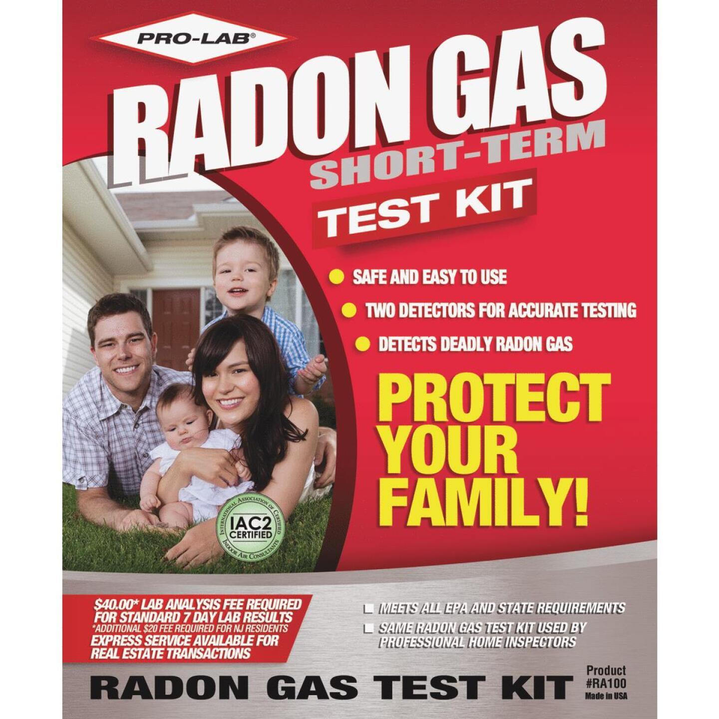 Pro Lab Radon Test Kit Image 1