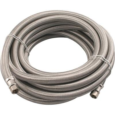 B&K 1/4 In. x 20 Ft. Ice Maker Connector Hose