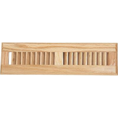 Home Impressions 2-1/4 In. x 12 In. Light Oak Floor Register