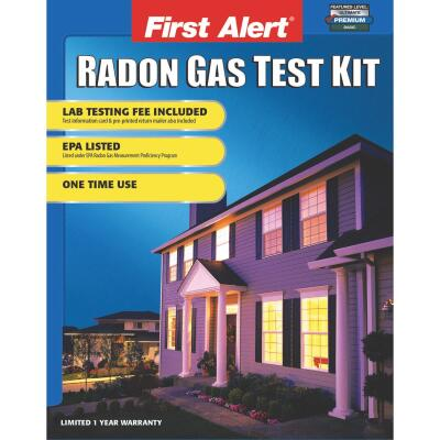 First Alert Outside Lab Radon Test Kit