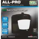 All-Pro Bronze Dusk To Dawn LED Outdoor Area Light Fixture Image 3