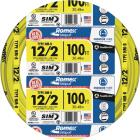 Romex 100 Ft. 12-2 Solid Yellow NMW/G Wire Image 1