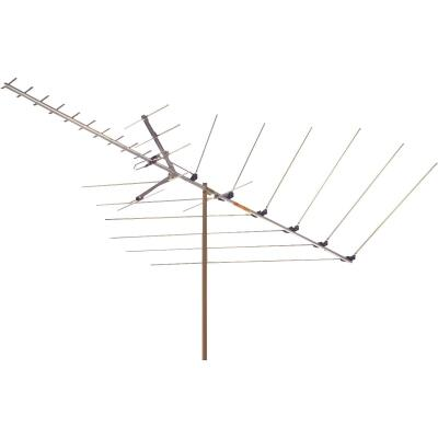 RCA Digital TV & FM Radio Metallic Outdoor Antenna