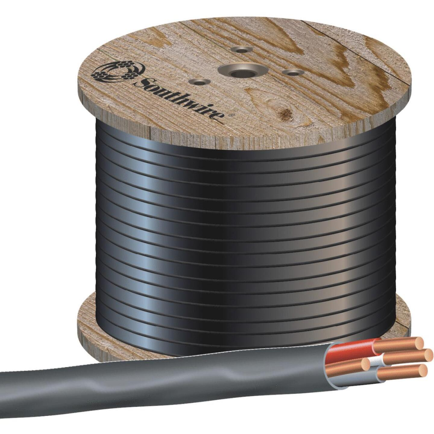 Romex 500 Ft. 8-3 Solid Black NMW/G Wire Image 1