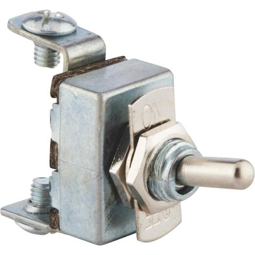 Calterm Screw 15A 12V Nickel Toggle Switch