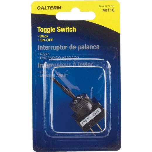Calterm Duck Bill Male Blade 20A Toggle Switch