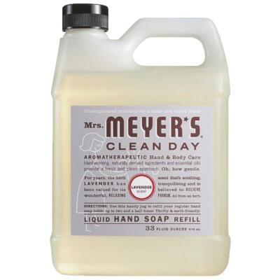 Mrs. Meyer's Clean Day 33 Oz. Lavender Liquid Hand Soap Refill