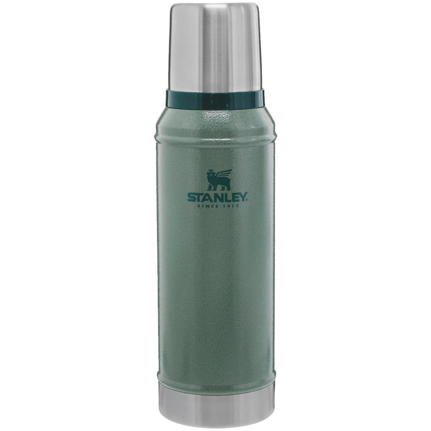 Stanley 1.1 Qt. Green Stainless Steel Insulated Vacuum Bottle Image 1