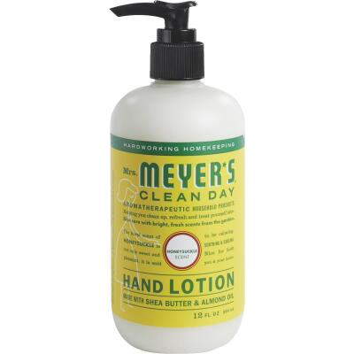 Mrs. Meyer's Clean Day 12 Oz. Honeysuckle Hand Lotion