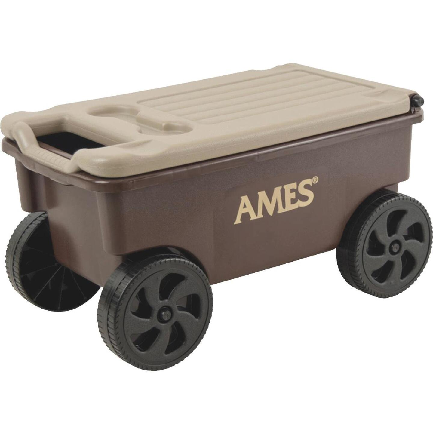 Ames Lawn Buddy 2 Cu. Ft. 200 Lb. Poly Garden Cart Image 1