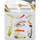 SouthBend 10-Piece Jig & Spin Fishing Lure Kit Image 1