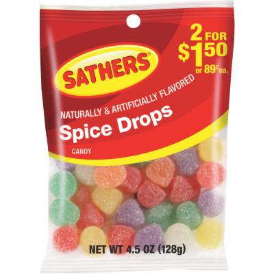 Sathers 4.5 Oz. Spice Drops