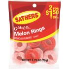 Sathers 2.75 Oz. Melon Rings Image 1